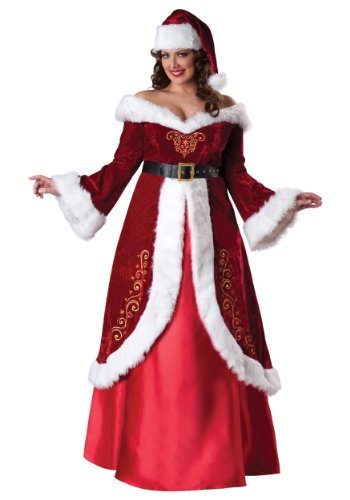 InCharacter Costumes Women's Plus-Size Mrs. St. Nick