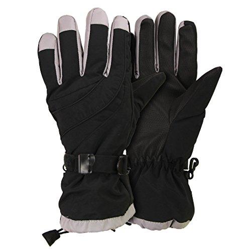 Women's Waterproof / Thinsulate Lined Ski Glove Black, Mediu