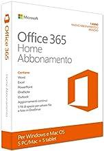 Microsoft Office 365 Home Premium, x32/64, 1y - Suites de programas (x32/64, 1y, PC, Windows 7 Home Basic, Windows 7 Home Basic x64, Windows 7 Home Premium, Windows 7 Home Premium x64, , Mac OS X 10.10 Yosemite, Mac OS X 10.6 Snow Leopard, Mac OS X 1