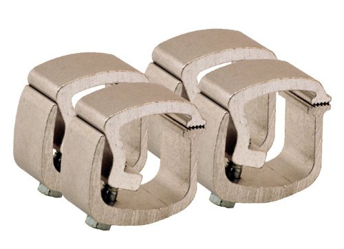 API AC101P4 Mounting Clamps for Truck Caps / Camper Shells (Set of 4) (Truck Bed Rail Clamps compare prices)
