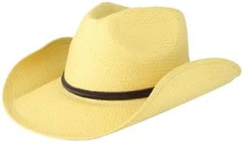San Diego Hat Women's Soft Toyo Paper Cowboy Hat, Beige, One Size