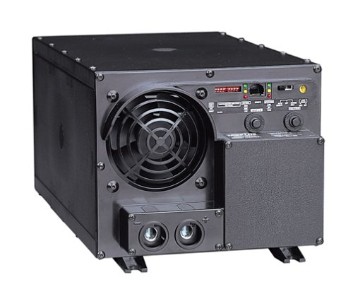 Tripp Lite APS2012 2000W 12V DC to AC Inverter with Automatic Line-to-Battery 100/25-Amp Charger