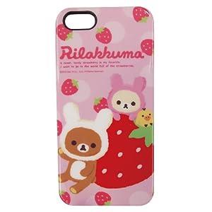 グルマンディーズ iPhone 5 専用 リラックマ ソフト ジャケット GRC-55A