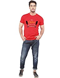 Beer Studio Round Neck Casual Half Sleeve CottonT-Shirts For Men & Boys By Shopizone