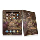 Monet - Garden at Giverny Design Protective Decal Skin Sticker for Apple iPad 1st Gen Tablet E-Reader