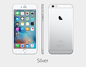 Apple iPhone 6s Plus 16 GB US Warranty Sprint - Retail Packaging (Silver)
