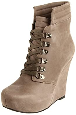 Restricted Women's Opera Ankle Boot,Taupe,5.5 M US