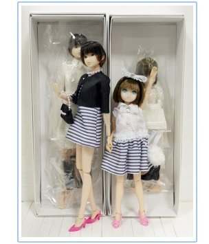 CCS 15SS Momoko & CCS girl 15SS Ruruko + Rika-chan Matching Outfits Dress Set