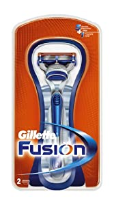 Gillette Fusion Manual Razor with Replacement Blade Head