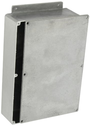 BUD Industries CN-6711 Die Cast Aluminum Enclosure with Mounting Bracket, 8-3/4
