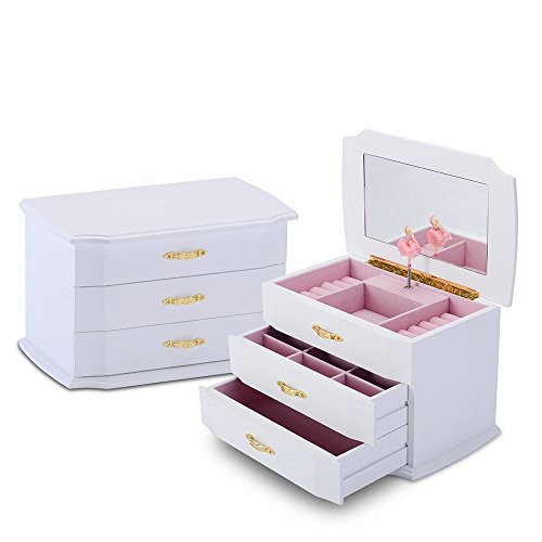 HERITAGE Wooden Jewellery Box