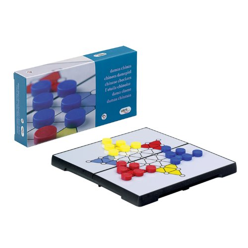 Foldable Chinese Checkers Board Game