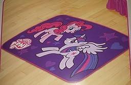 My Little Pony Accent Floor Rug 39 in X 54 In