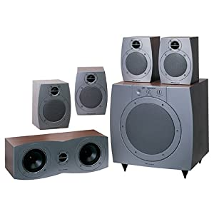 wharfedale moviestar 70 surround sound speaker system beech discontinued by. Black Bedroom Furniture Sets. Home Design Ideas