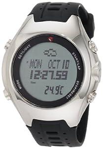 Momentum Men's 1M-SP42BS1 Digital Altimeter VS-1 Steel Compass Watch