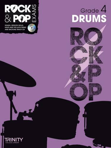 Trinity Rock & Pop Drums Grade 4