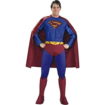 Rubies Supreme Muscle Chest Superman Halloween Adult Costume-888021