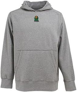 Marshall Signature Hooded Sweatshirt (Grey) by Antigua