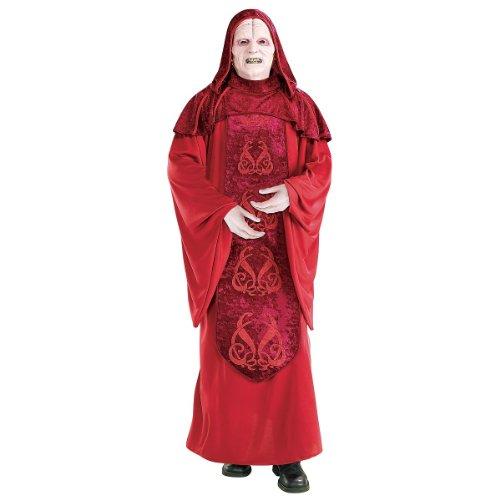 Star Wars - Emperor Palpatine Deluxe Adult Halloween Costume (Standard One-Size)