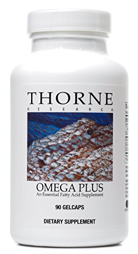 Thorne Research - Omega Plus - An Essential Fatty Acid Supplement with Omega-3 and Omega-6 - 90 Gelcaps (Omega 3 Fish Oil 300 Epa 200 Dha compare prices)