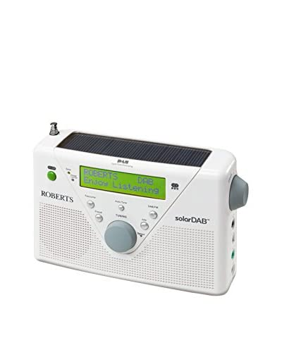 Roberts Radio  Radio Portátil Solardab Blanco
