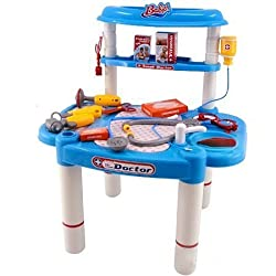25 Pieces Deluxe Childrens Doctor Play Set Little Doctors Deluxe Medical Doctor Playset For Kids