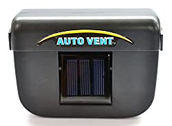 GB52 GIZMOBABA Solar Powered Car Automatic Exhaust Fan. Ventilation system for parked cars.