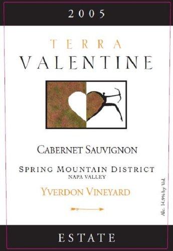 2005 Terra Valentine Cabernet Sauvignon Yverdon Vineyard Spring Mountain 750 Ml