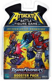 Hasbro - Figurine - Figurine - Attacktix booster pack Tf