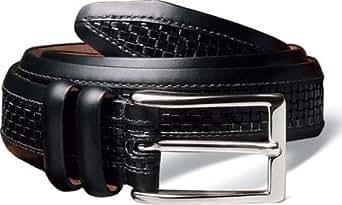 Allen-Edmonds Men's Woven Inlay Belts,Chili,40 US