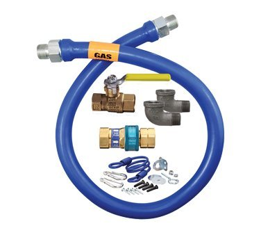 Dormont 1675KIT48 Safety System Kit, 3/4 Dia., 4 (Quick Disconnect Gas Hose compare prices)