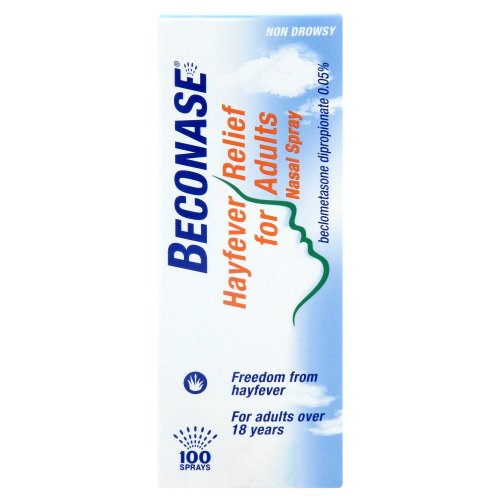 Beconase Hayfever Nasal Spray For Adults 100 Doses