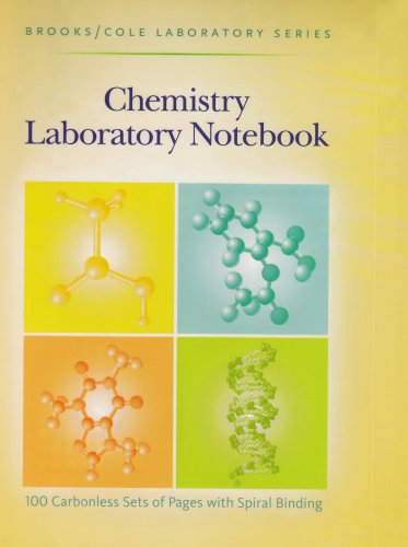 General Chemistry Laboratory Notebook087542094X