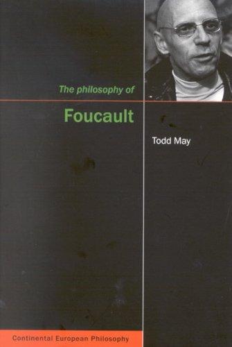 Philosophy of Foucault (Continental European Philosophy Series)