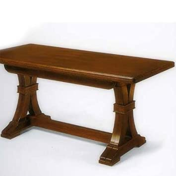 Table en bois, Table Châtaigne cm 160 x 85 + 4 Rallonge - Production italienne