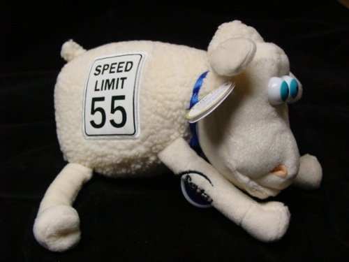55-serta-sheep-plush-speed-limit-sign-by-curto-toy-mfg-for-serta-inc