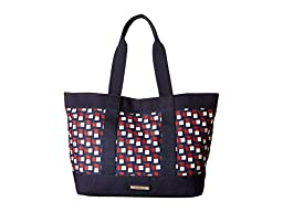 Tommy Hilfiger Women\'s Daphne Tote Navy/Red Tote