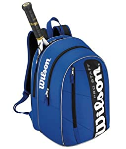 New WILSON PRO STAFF BACKPACK FOR TENNIS, PADEL , GYM TRAVEL WALKING , BLUE by Wilson