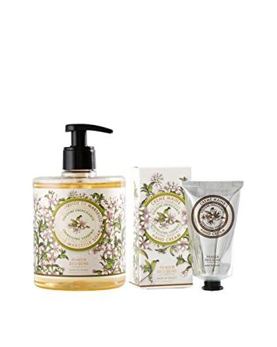 Panier des Sens Women's Liquid Marseille Soap & Hand Cream Duo, Verbena
