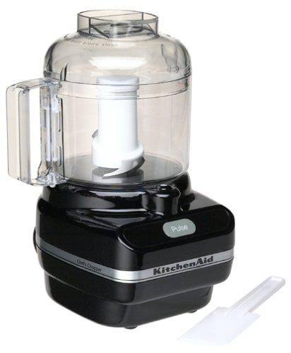 KitchenAid KFC3100OB Chef Series 3- Cup Food Chopper, Onyx Black