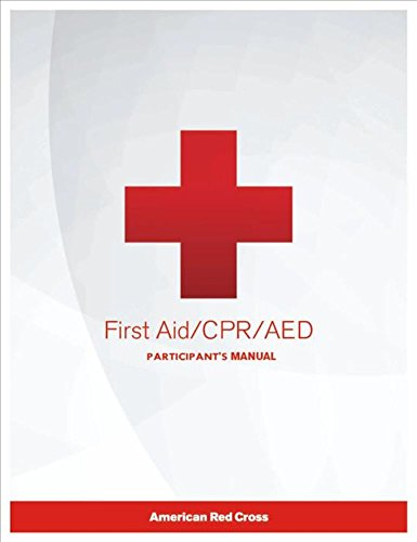 First Aid/CPR/AED Participant's Manual - 2016 Release (American Red Cross Cpr Book compare prices)