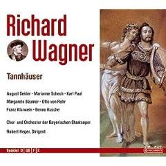 Richard Wagner: Tannh舫ser (Oper) (Gesamtaufnahme) (3 CD)