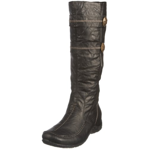 Rieker Women's Astrid 79970 Black Knee High Boot 79970/01 5 UK