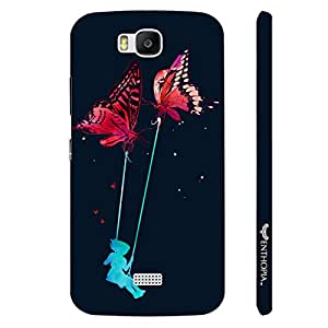 Huawei Honor Bee Ladder Fly designer mobile hard shell case by Enthopia