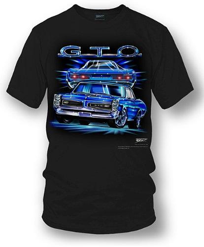 Wicked Metal - GTO Shirt - Pontiac GTO Shirt - Muscle Car T-shirt - 1966 GTO (Large) (Pontiac Gto Shirt compare prices)