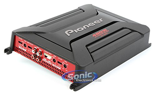 PIONEER GM-A4604 480-Watt 4-Channel Amp