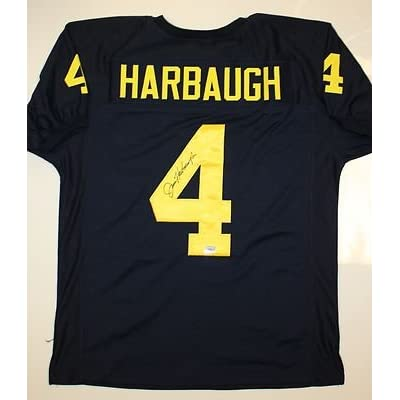 Signed Jersey - Michigan Wolverines AAA - Autographed College Jerseys