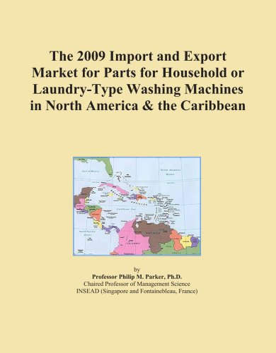 The 2009 Import And Export Market For Parts For Household Or Laundry-Type Washing Machines In North America & The Caribbean front-614299