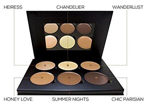 Cosmetics Cream Contour And Highlighting Makeup Kit