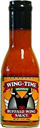 Wing Time W Time Buff Wing Sce Med 13 OZ (Pack of 12)